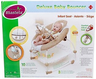 Mastela Baby Bouncer Deluxe 6908 - Brown,