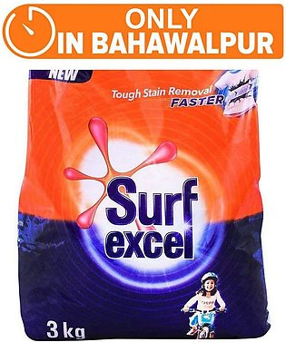 Surf Excel 3 kg (One day delivery in Bahawalpur)