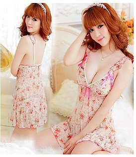 Hot and Sexy Nighty and G String - Sleepwear