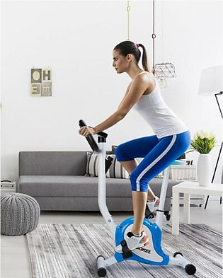 Stationary Exercise Bike Fitness Cycling Bicycle Cardio Training Blue
