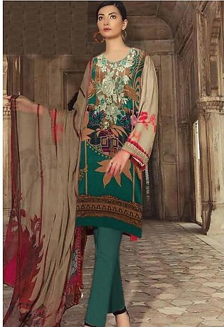 Charizma Embroidered Lawn Suit