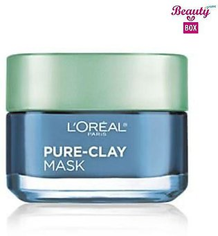 Loreal Pure - Clay Clear & Comfort Face Mask