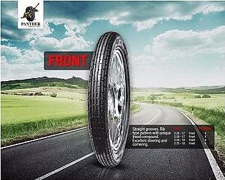 Panther Tyre+Tube For Front Wheel/Tire 70CC Bike