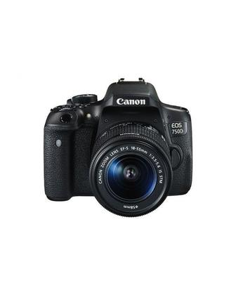 EOS 750D - 18-55mm DSLR Camera - Black