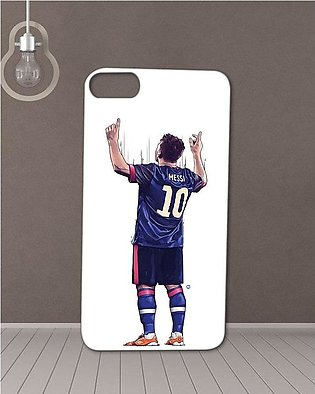 Messi Printed Mobile Cover For Iphone 8  -Multicolour