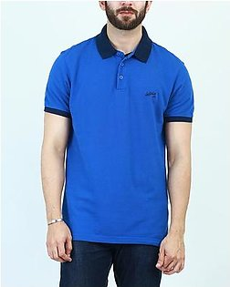 Levi's Powell Polo Solid Tipping True Blue Stripe Polo Men 22403-0055