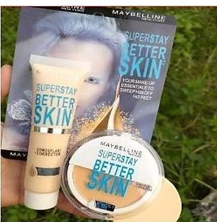 2 in 1 Maybelline New York Superstay Better Skin Foundation +Face Powder - 03...