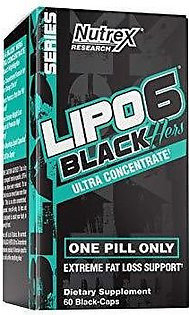 Lipo 6 Black HERS Fat Burner & Weight Loss - Ultra Concentrate - 60 caps