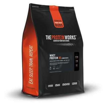 The Protein Works Whey Protein 80 - 1 kg (2.2 lbs) - Vanilla Creme
