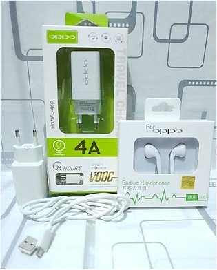 Oppo 100% Original VOOC Technolgy Charger with Data Cable