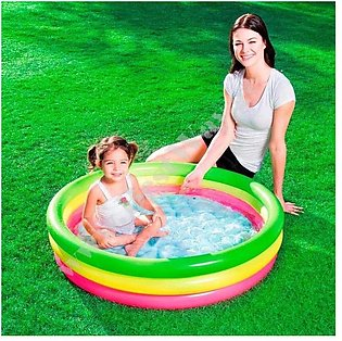 Swimming Pool For Kids - 3Ft - Multicolor
