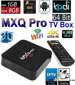 Android TV Box - 4K Quad Core - 2.0GHZ - Black ( INDIAN CHANNELS Also Availab...