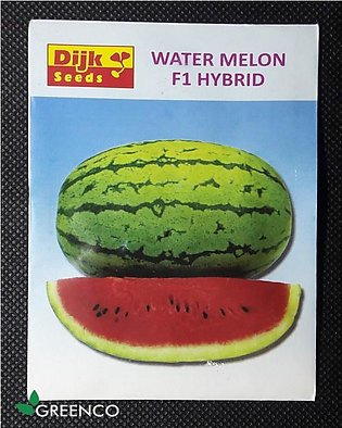 High Quality Hybrid F1 Water Melon (tarbooz) Summer Vegetable Seeds
