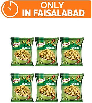 Knorr Noodles Chiken pack of 6 (One day delivery in Faisalabad)