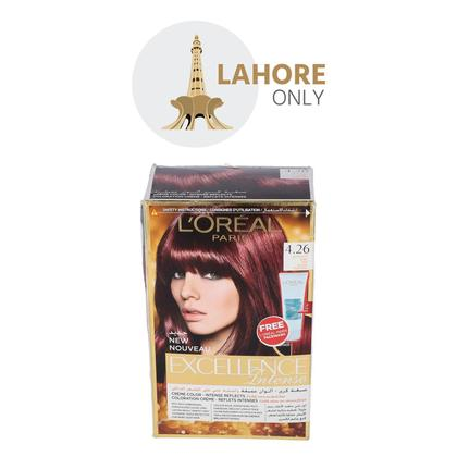 L'Oreal Paris Excellence Intense Hair Color 4.26 Deep Red