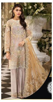 Heavy Embroidered Dress Mehak Botique