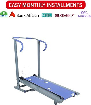 Manual Treadmill - Running Machine with 21 Rollers