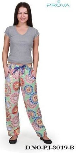 New Fashion slim multi sports trousers & shirt with cute design For Ladies