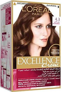 Loreal Excellence Hair color 4.3 Golden Brown