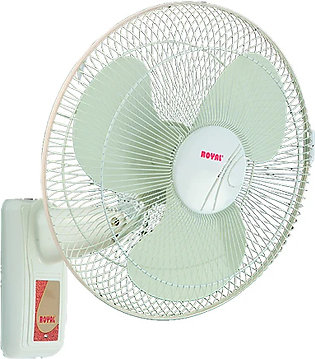 "Royal Fans - 18"" Bracket Fan - Two Colors Option - Pinewood And White"