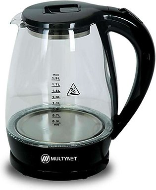 Electric Kettle - Glass Black