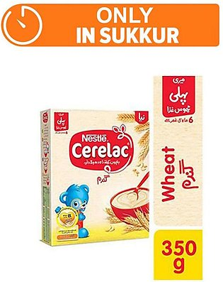 Nestle CERELAC Wheat 350g - Baby Food (One day delivery in Sukkur)