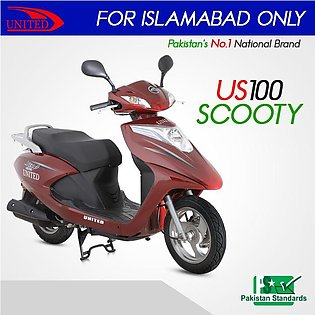 US 100 Scooty 2020 Model
