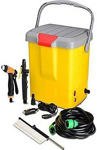 High Pressure Portable Car Washer - Yellow