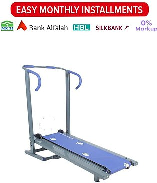 Manual Treadmill - Running Machine with Rollers