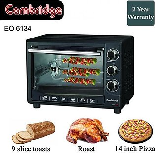 Cambridge EO-6134 Electric Oven With Official Warranty - BBQ Edition - 14 Inch …