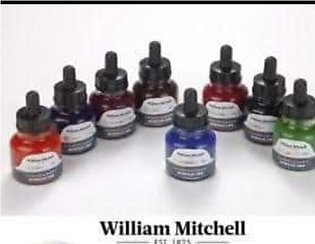 WILLIAM MITCHELL CALLIGRWILLIAM MITCHELL CALLIGRAPHY INK - SEPIA - 30007APHY IN…