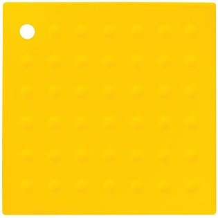 Zing Yellow Silicone Trivet