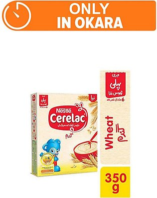 Nestle CERELAC Wheat 350g - Baby Food (One day delivery in Okara)