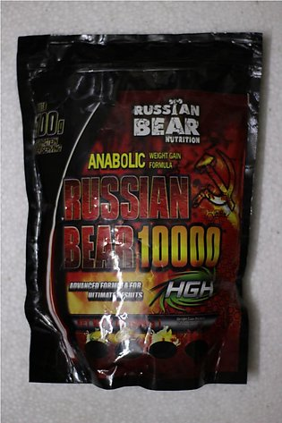 Russian bear 10000 protein and weight gainer 2 lbs 1 kg