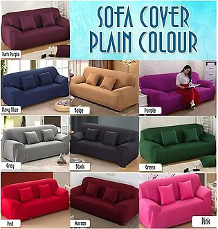 Elastic Sofa Cover 5 Sitter (3+1+1) & Spaical GIFT COBY Headphone
