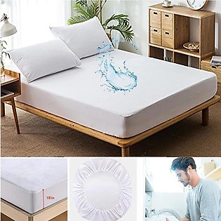 Mattress Waterproof Mattress Cover Protector Anit Allergy Fitted