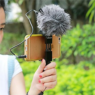 BOYA BY-MM1 MM1 Compact On-Camera Video Microphone Youtube Vlogging Recording...