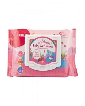 Moisture Baby Wipes With Cap 85 Pcs