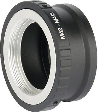 Photographic Equipment M42-M4/3 Adapter Ring For Nikon Lens Adapter Ring -Black