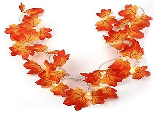 3M 20 Lights Maple Leaves Garland Fairy Lights for Christmas Decoration Autumn …
