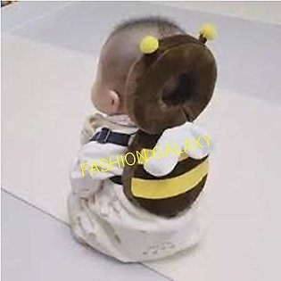 Baby Head Protection Pillow In Brown Color By Fashion Galaxy