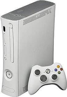 XBOX 360 WITH 320 GB ROM, WIRELESS CONTROLLER, 130 GAMES INSTALLED
