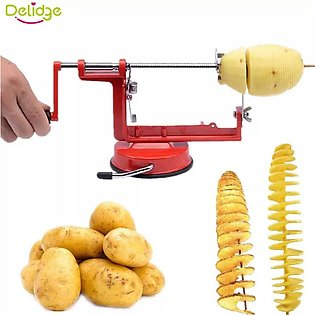 Potato Machine Twisted Potato Slicer Spiral Vegetable Cutter French Fry Cutting…