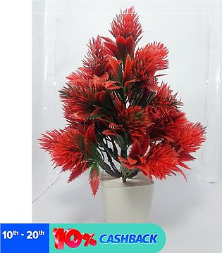 NS Collection-Artificial Red Tree Decoration Piece Best For Home & office Decor…