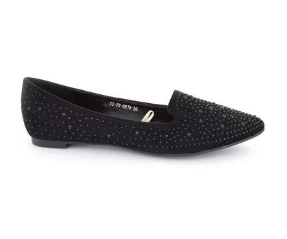Hush Puppies - SS-PM-0078 - Black Closed Casual for Women