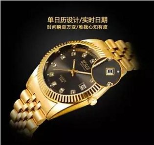 NEW GOLD CHAIN WATCH
