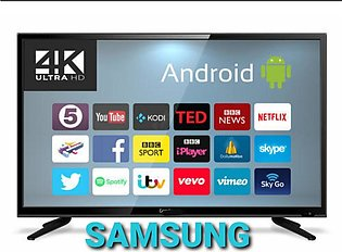 32 inch Smart Samsung Android LED TV, Miracast, Wifi, Youtube, Netflex