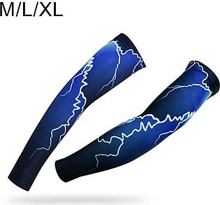 Outdoor Mountain Bike Bicycle Cycling UV Sun Protection Arm Breathable Sleeve C…