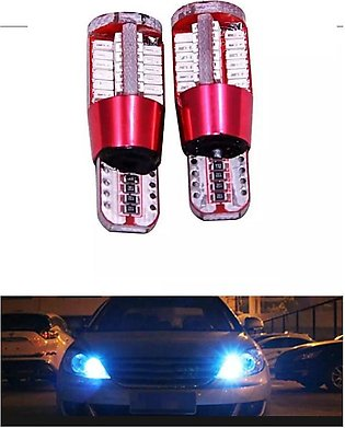 Product details of 56 SMD Car Parking LED Light Bulbs Pair - Blue Color