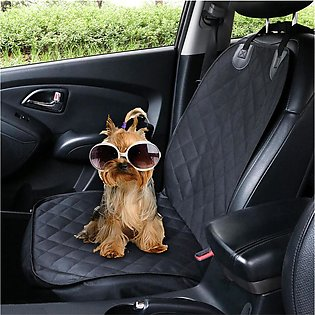 Pet Seat Cover Waterproof Car Single Seat Front Cover for Dog Pe